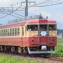 えちごトキめき鉄道で413系・455系の試運転実施