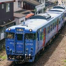 キハ66-2+キハ67-2が唐津線・筑肥線に入線