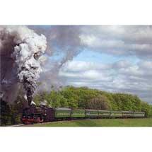 6月30日〜7月4日福田伸吉写真展『煙遊紀行VIII「異国の蒸機」』を開催