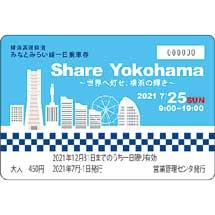 みなとみらい線「Share Yokohama オリジナルデザイン一日乗車券」発売