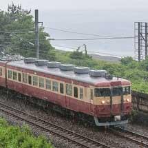 えちごトキめき鉄道の413系+クハ455が営業運転を開始