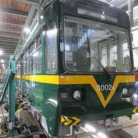 筑豊電鉄,3000形1編成を阪堺線「ビークルスター」カラーに変更