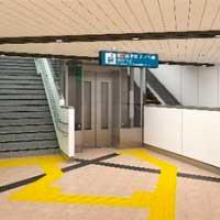 東京メトロ,赤坂見附駅と永田町駅の改札内乗換通路で斜行形エレベータの供用を開始