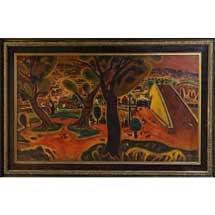 7月24日〜11月28日京都鉄道博物館で,収蔵資料展「新収蔵 SL機関士画家太田忠の絵画」開催