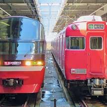 名鉄1200系「パノラマsuper」が中部国際空港へ