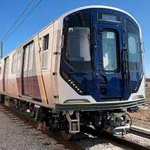 川崎重工,ニューヨーク市交通局向け新形車両「R211」の初編成を納入