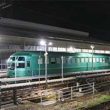 キハ72系が大分車両センターに留置される