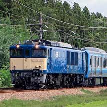 E131系500番台G-03編成が配給輸送される