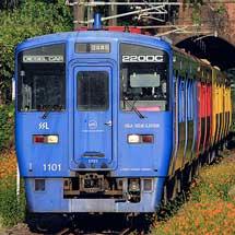 日豊本線で3色のキハ200系を使用した団臨運転