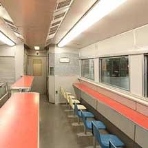 京都鉄道博物館で,0系新幹線電車(35-1)の車内公開