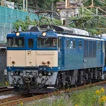 E131系500番台G-07編成が配給輸送される