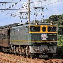 山陽本線で35系客車を使用した団臨運転