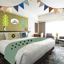 ホテルメトロポリタン,「Suicaのペンギン グランピングルーム」の予約を開始