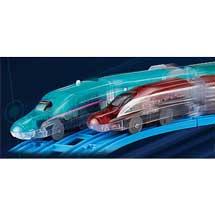 プラレール「電池いらずで出発進行!テコロでチャージ」シリーズを10月21日に発売〜「E5系新幹線はやぶさ」「E6系新幹線こまち」をラインナップ〜