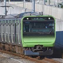 山手線渋谷駅改良工事による臨時列車運転