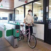 西鉄天神大牟田線で「サイクルトレイン」の実証実験を実施