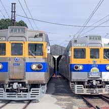 熊本電鉄で6000形の撮影会